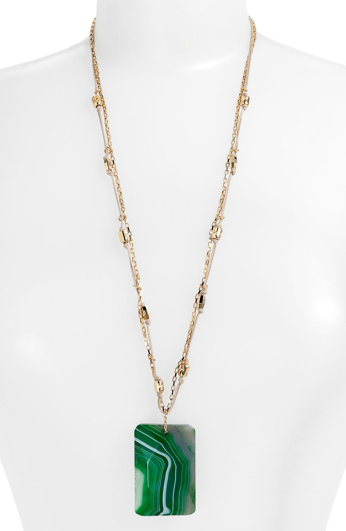 Alternate Image 2  - Nordstrom 'Grotto' Stone Pendant Necklace