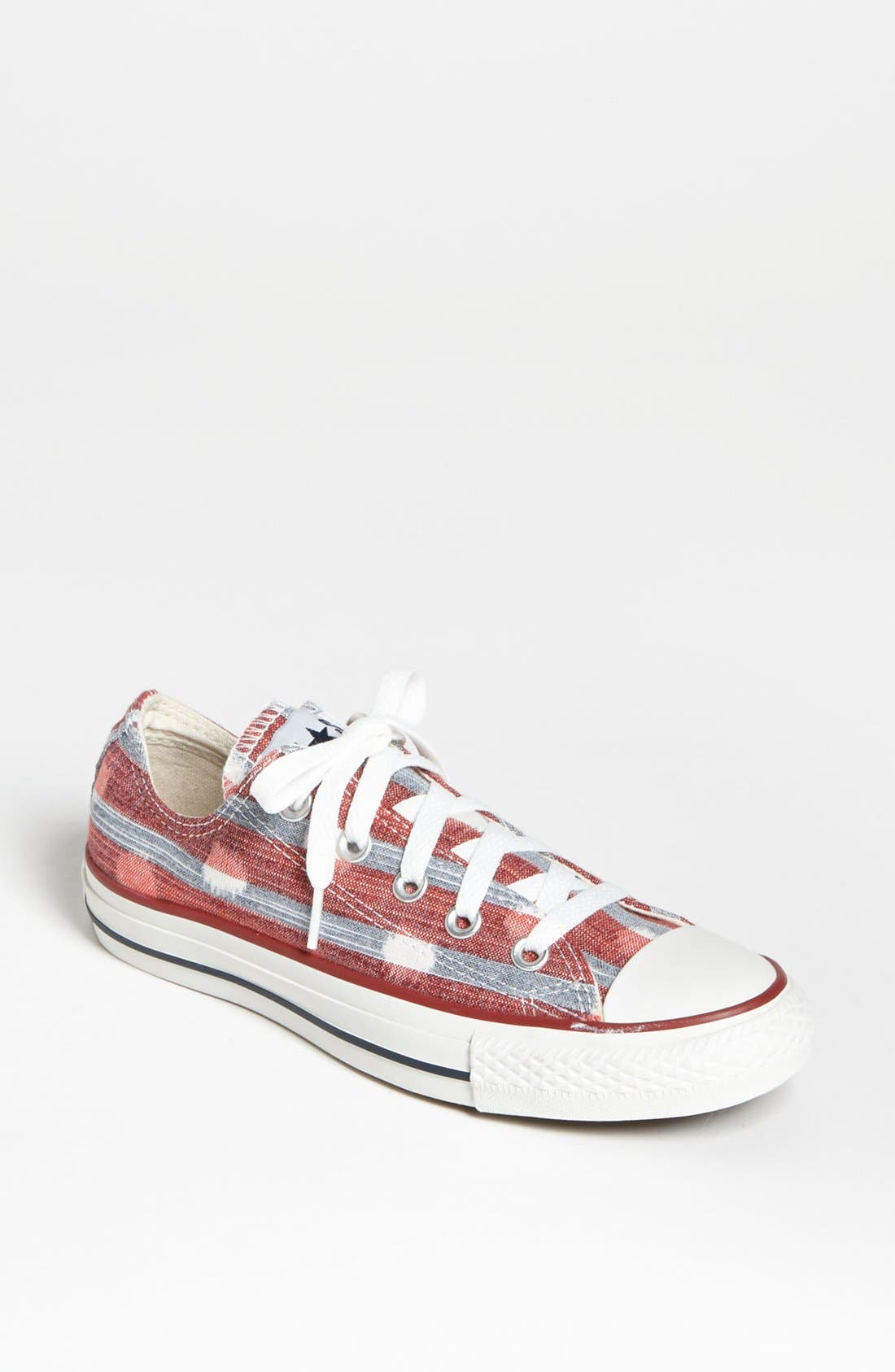Alternate Image 1 Selected - Converse Chuck Taylor® All Star® 'Stripes' Sneaker (Women)