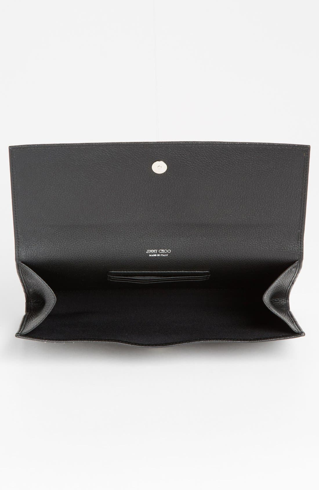 Alternate Image 3  - Jimmy Choo 'Reese - XL' Studded Leather Clutch