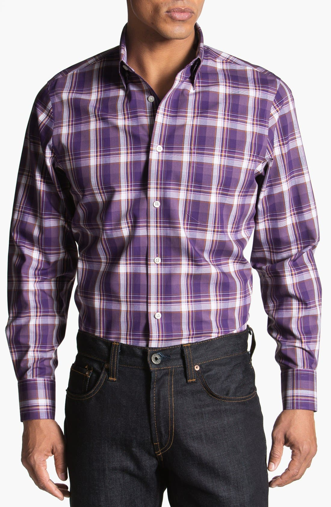 Alternate Image 1 Selected - Nordstrom Poplin Sport Shirt