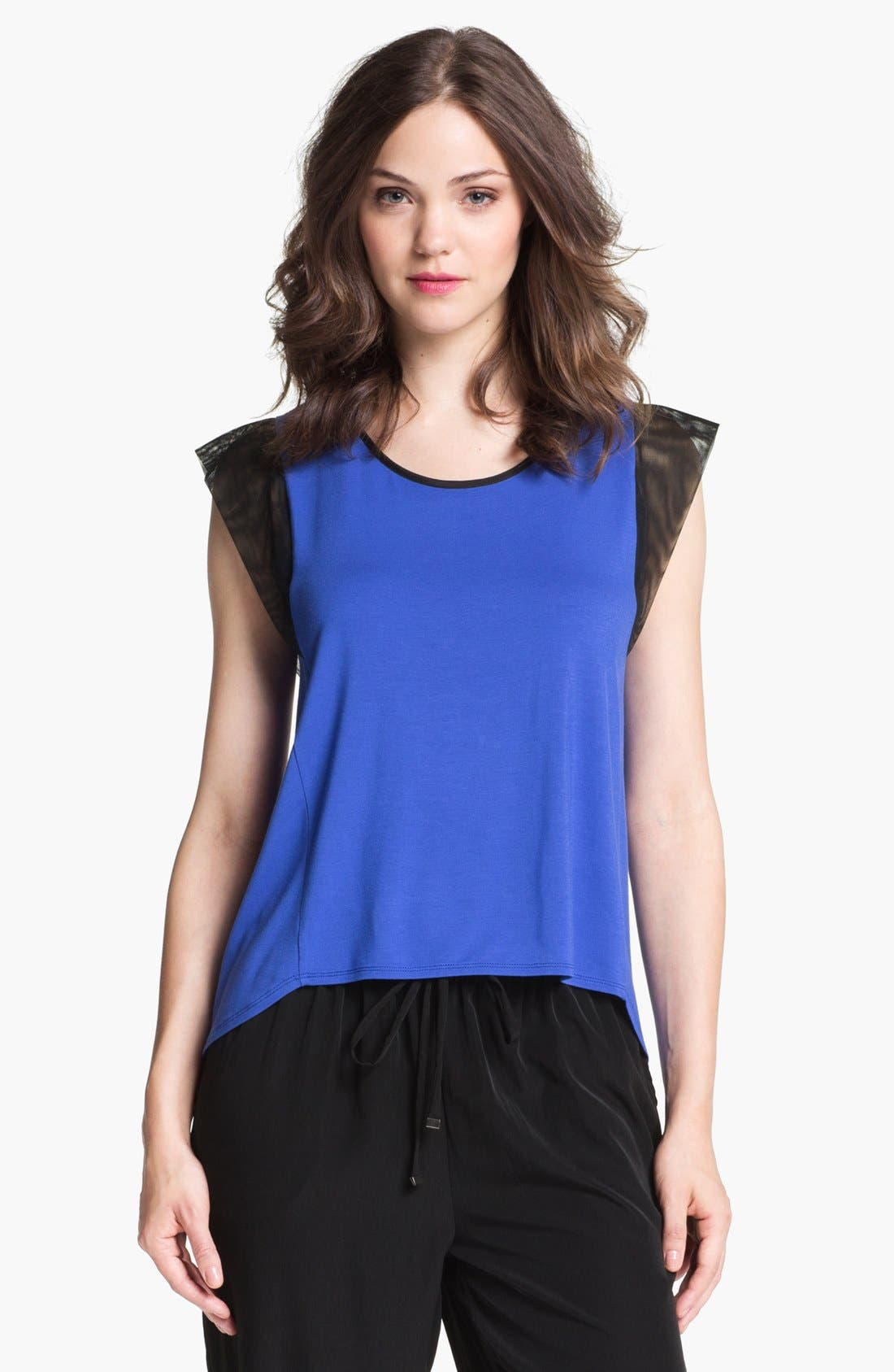 Alternate Image 1 Selected - Kenneth Cole New York 'Marcela' Colorblock Blouse