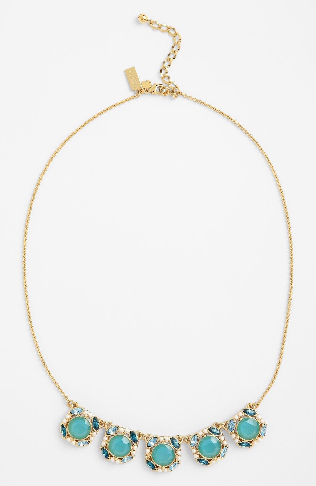 Main Image - kate spade new york 'belle fleur' frontal necklace