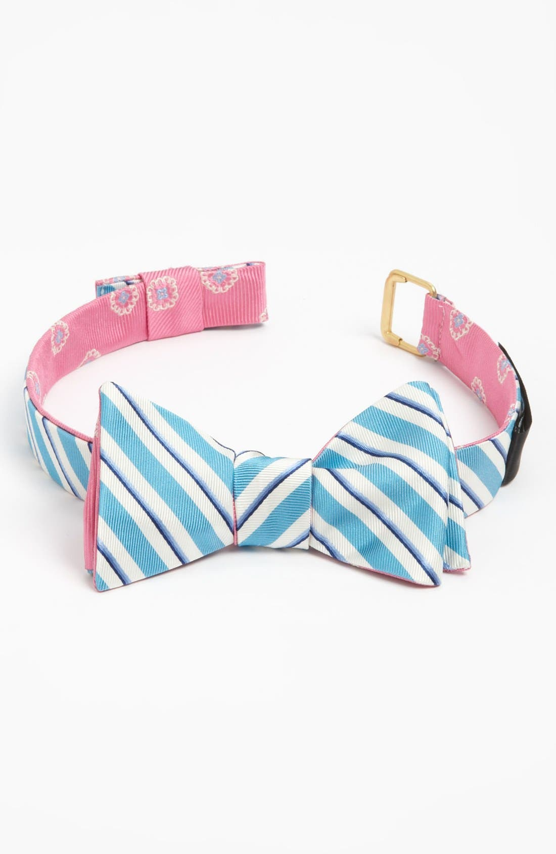 Alternate Image 2  - Brooks Brothers Reversible Silk Bow Tie
