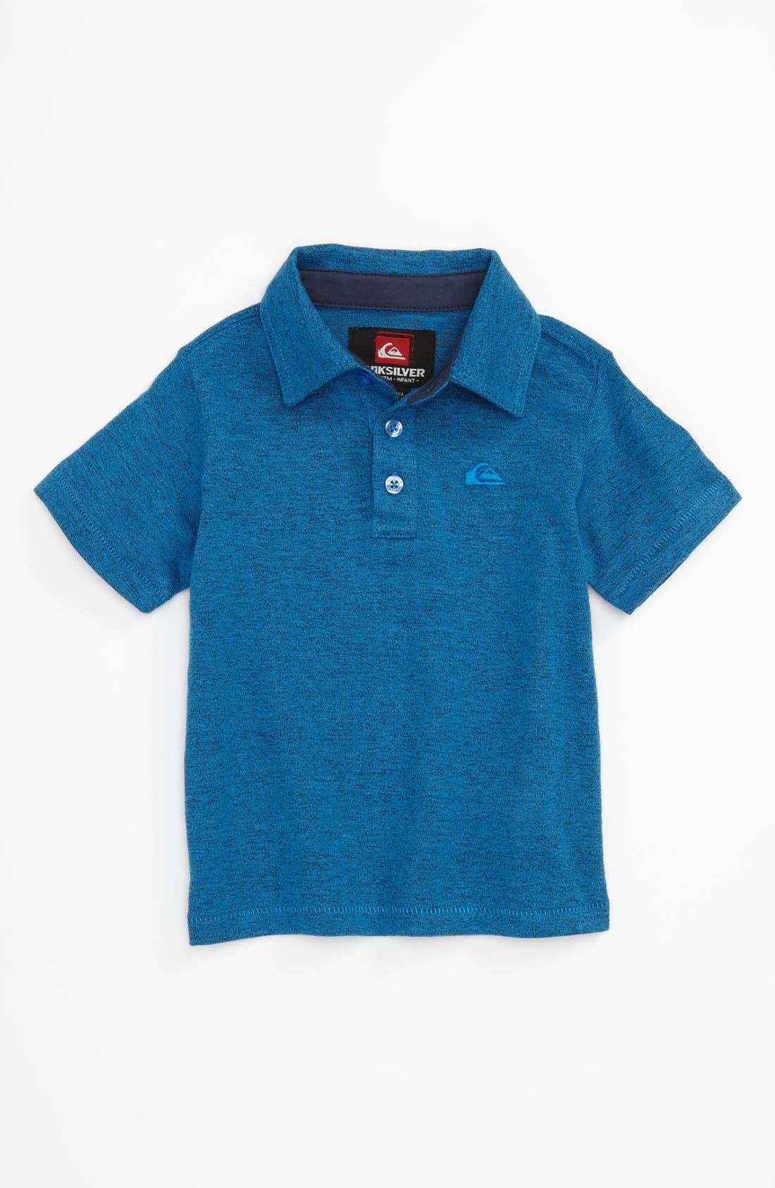 Alternate Image 1 Selected - Quiksilver 'Grab Bag' Polo Shirt (Toddler)
