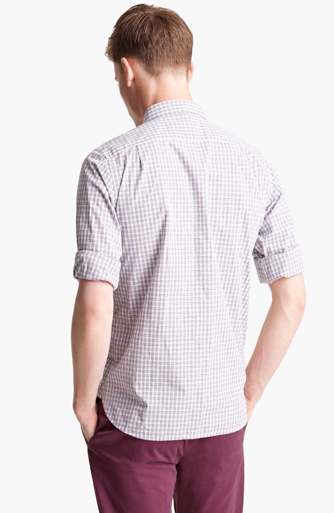 Alternate Image 2  - Jack Spade 'Yates' Check Cotton Shirt
