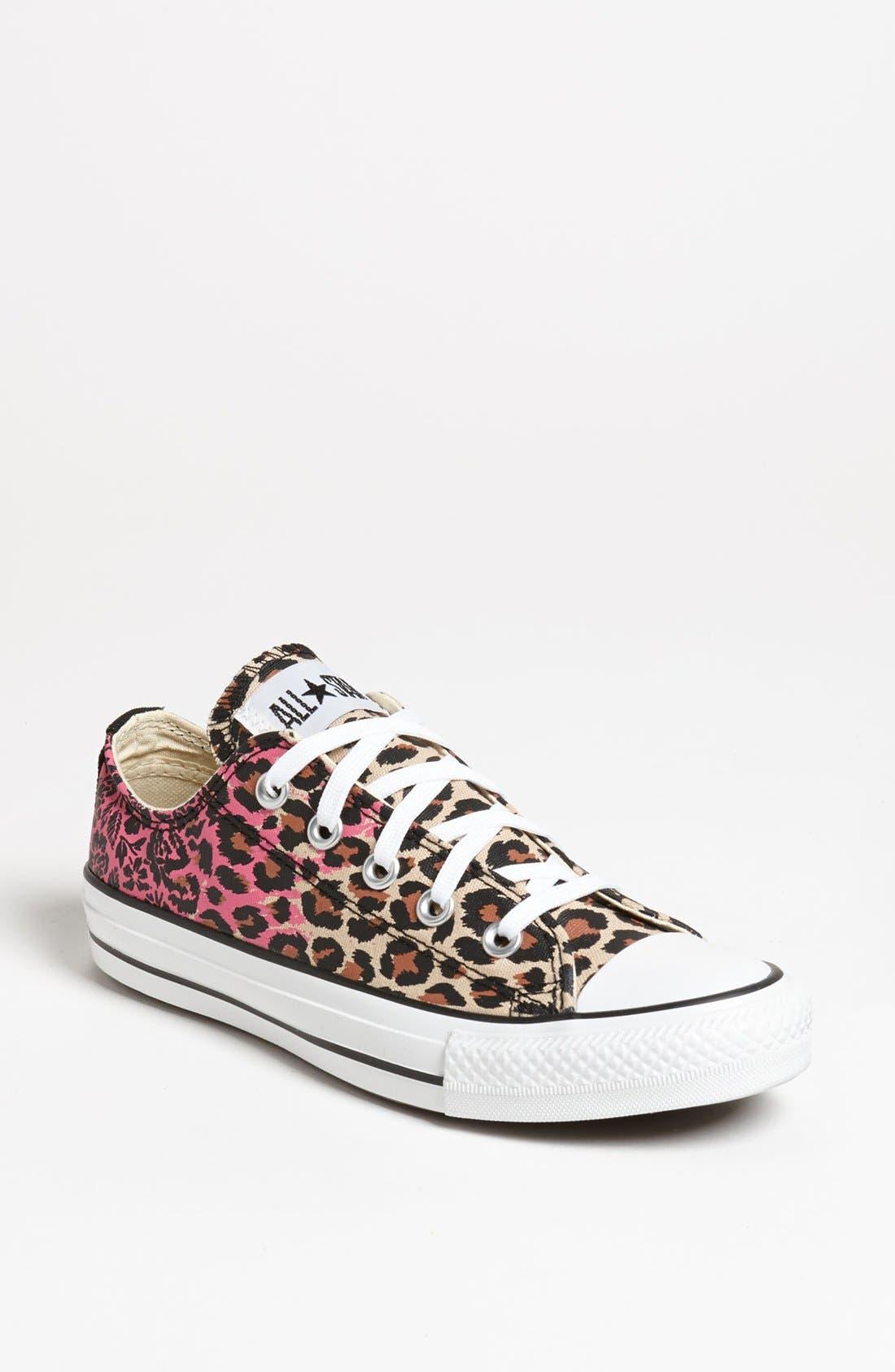 Main Image - Converse Chuck Taylor® All Star® Animal Print Sneaker (Women)