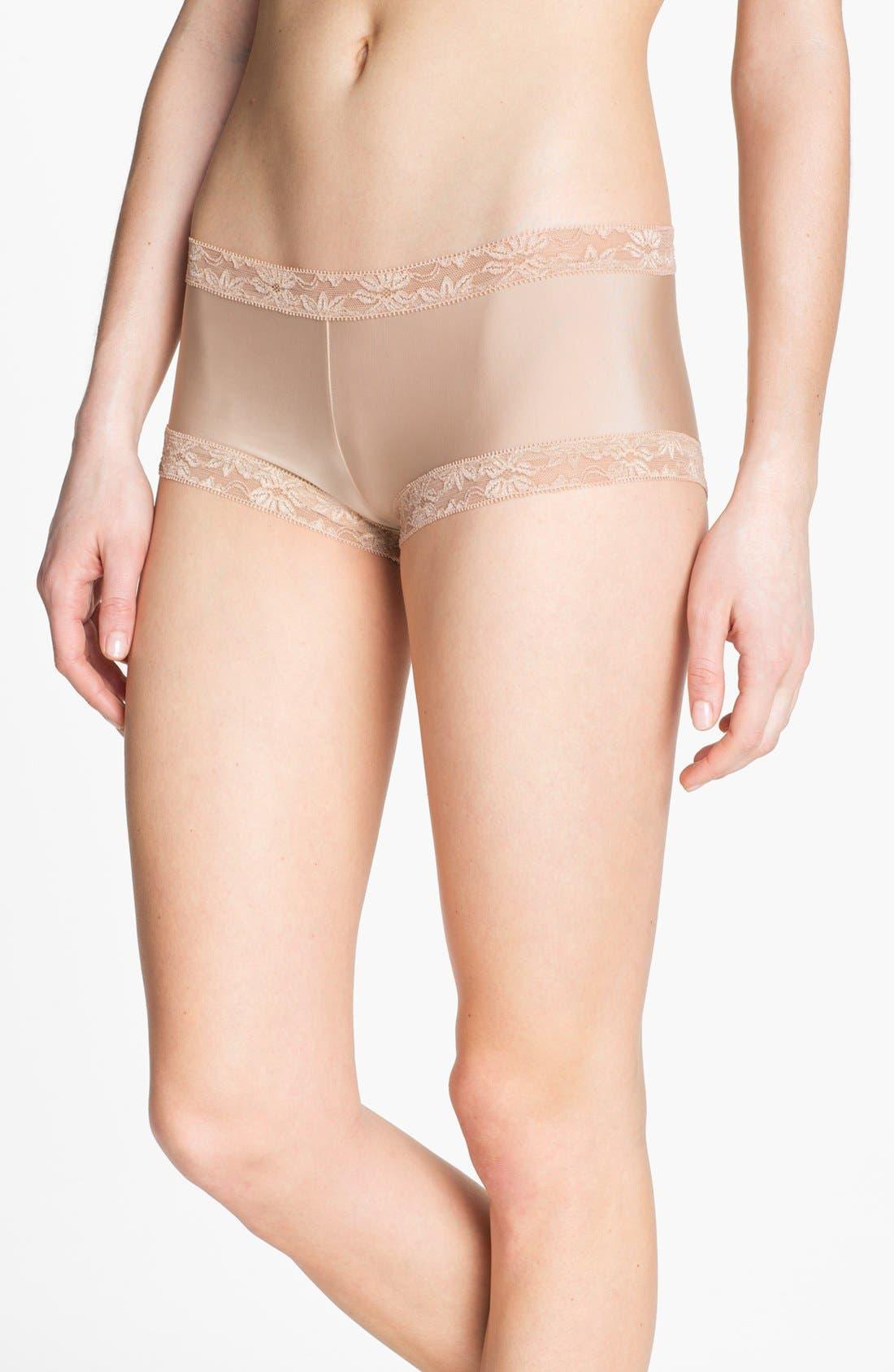 Main Image - Natori 'Bliss' Girl Shorts