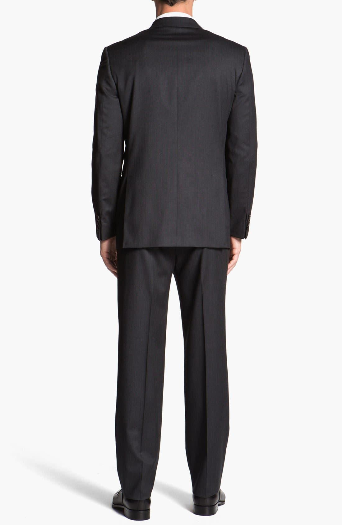 Alternate Image 3  - Joseph Abboud 'Signature Silver' Stripe Wool Suit (Online Only)