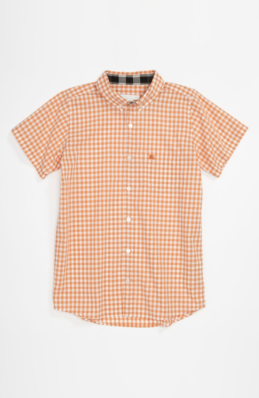 Alternate Image 1 Selected - Burberry 'Mini Fred' Woven Shirt (Little Boys & Big Boys)