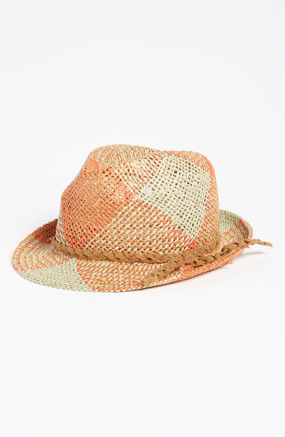 Main Image - Michael Stars Plaid Fedora