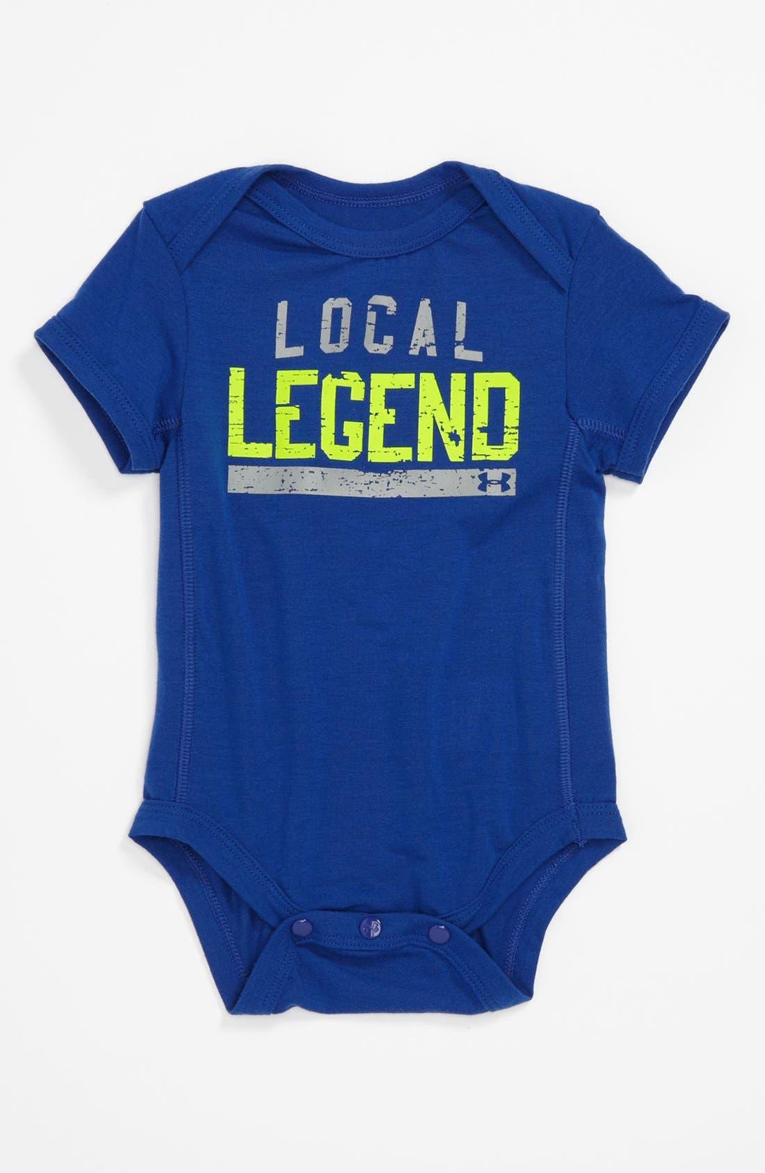 Main Image - Under Armour 'Legend' Bodysuit (Baby)