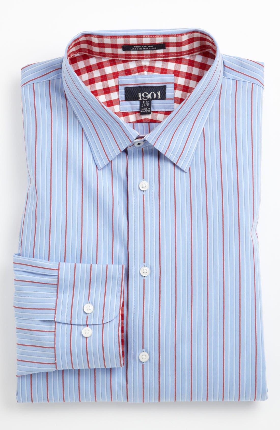 Alternate Image 1 Selected - 1901 Trim Fit Dress Shirt