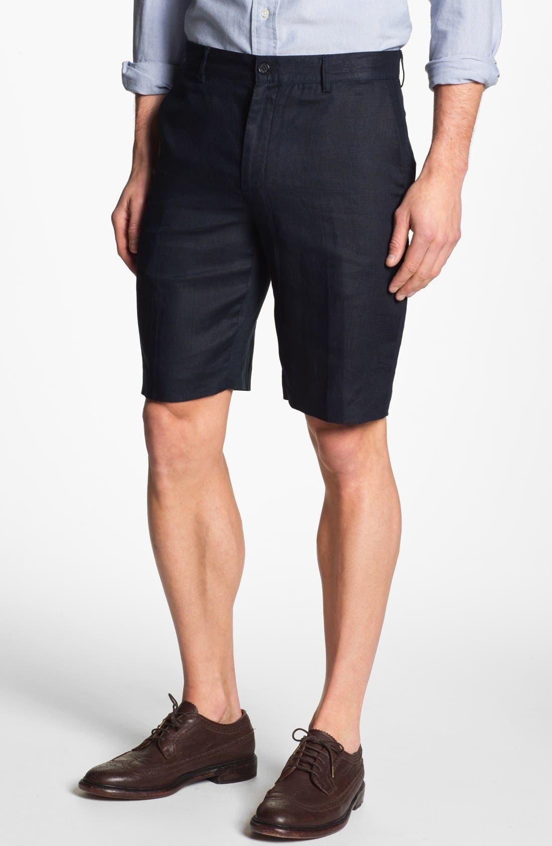 Alternate Image 1 Selected - Michael Kors Linen Shorts