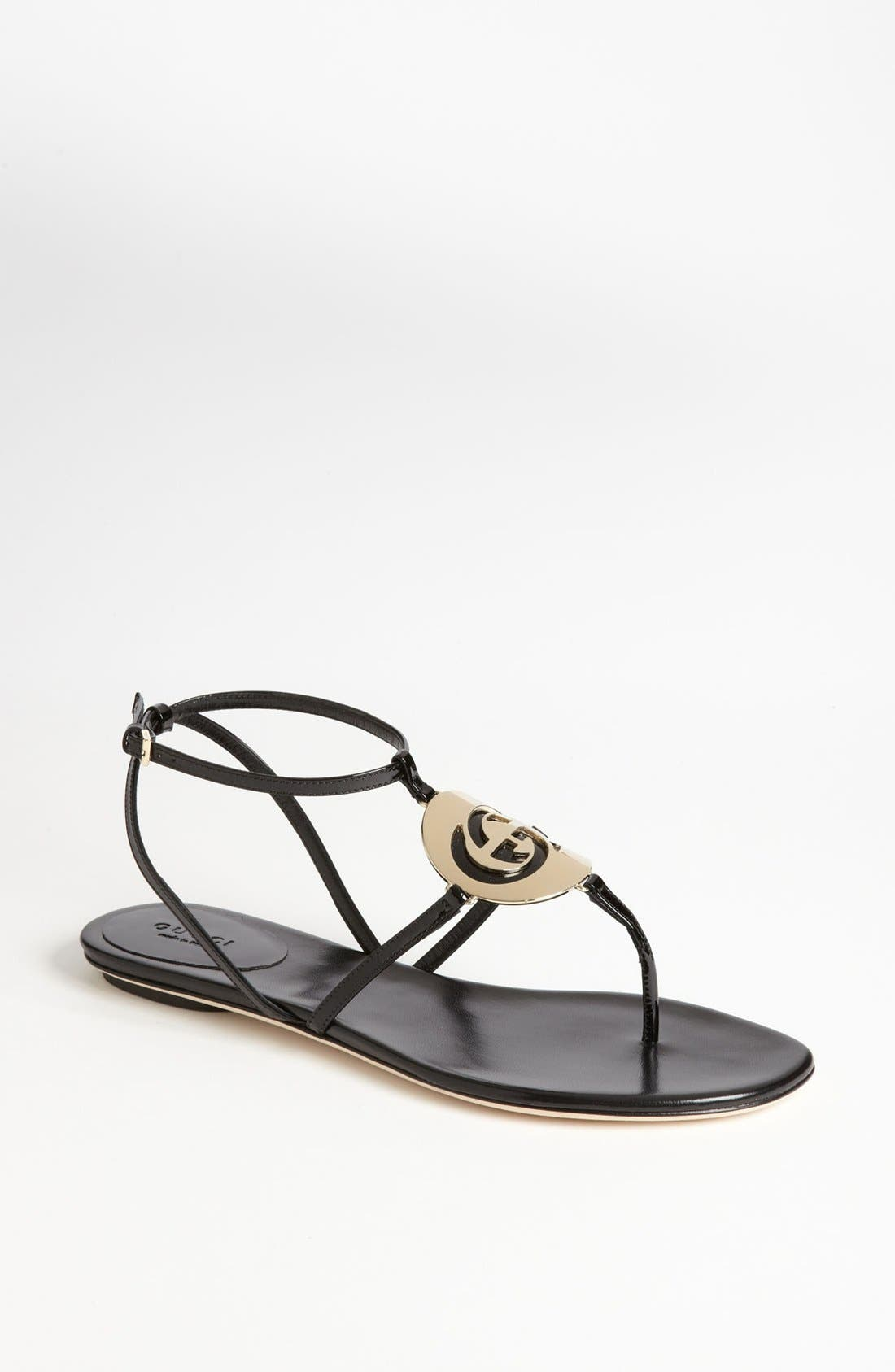 Alternate Image 1 Selected - Gucci 'New GG' Sandal