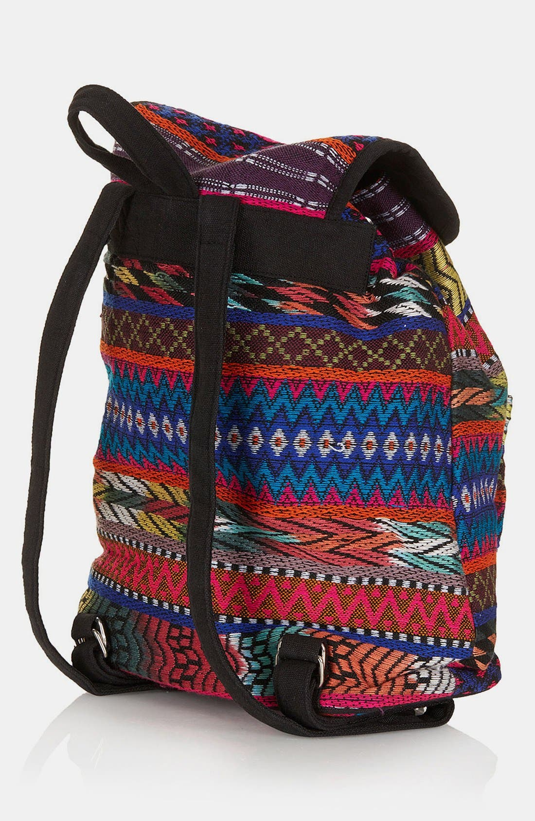 Alternate Image 4  - Topshop Ikat Backpack