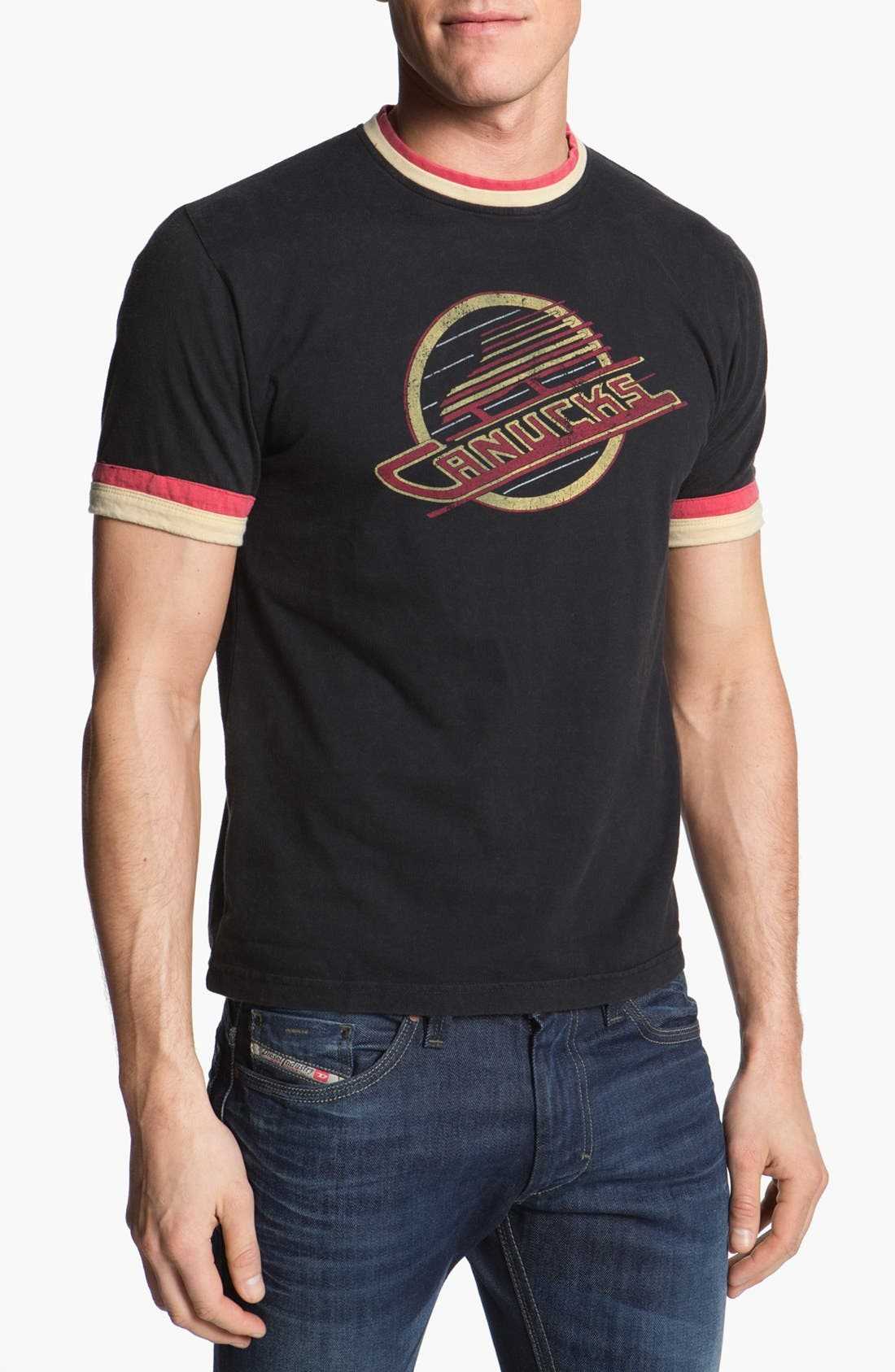 Alternate Image 1 Selected - Red Jacket 'Vancouver Canucks - Remote Control' T-Shirt