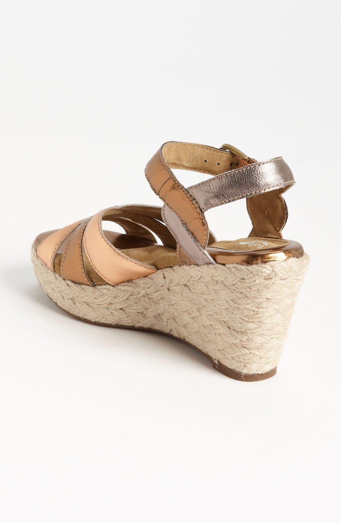 Alternate Image 2  - SoftWalk® 'St. Helena' Wedge Sandal