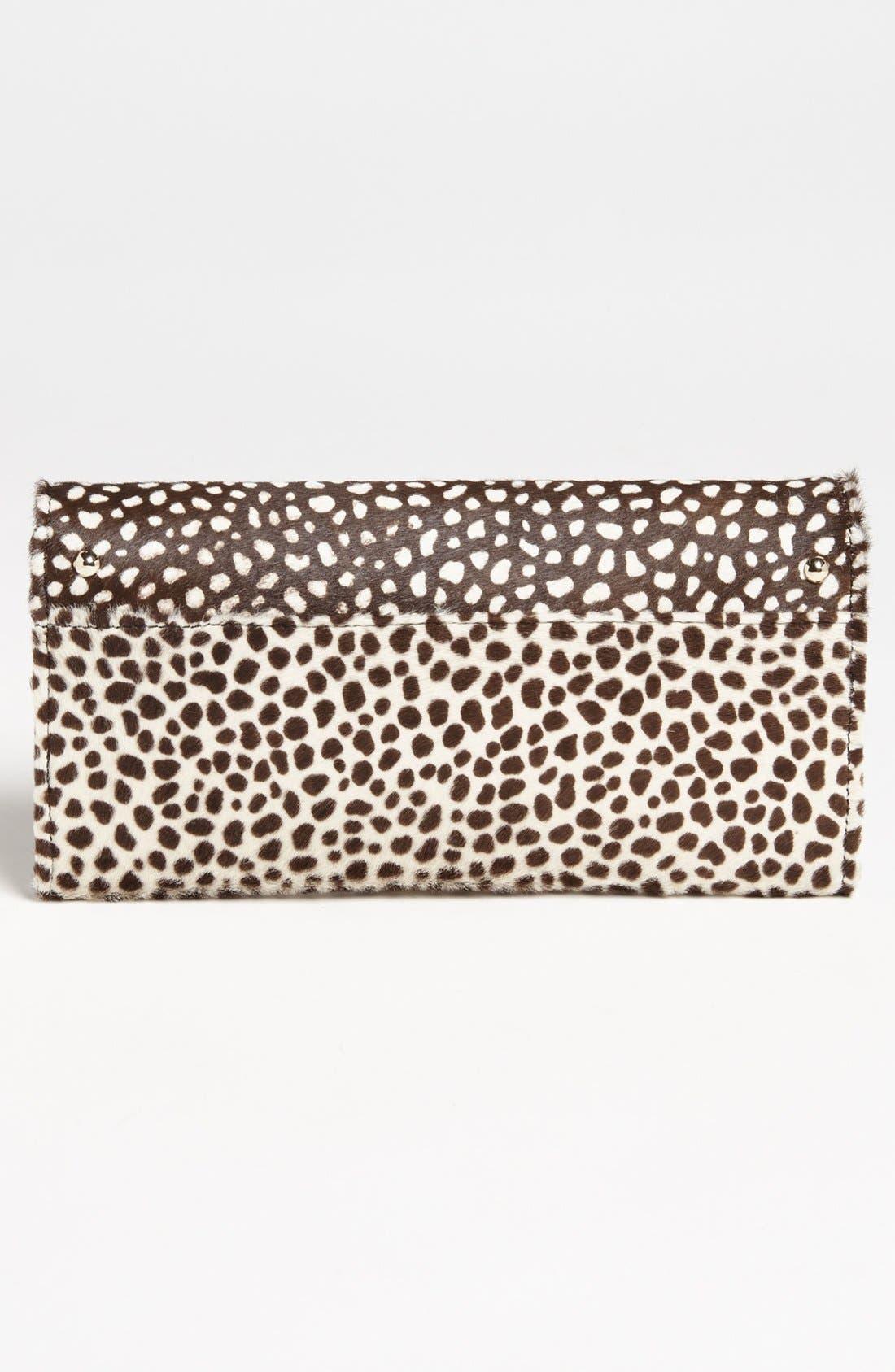 Alternate Image 4  - Jimmy Choo 'Reese' Cheetah Print Calf Hair Clutch