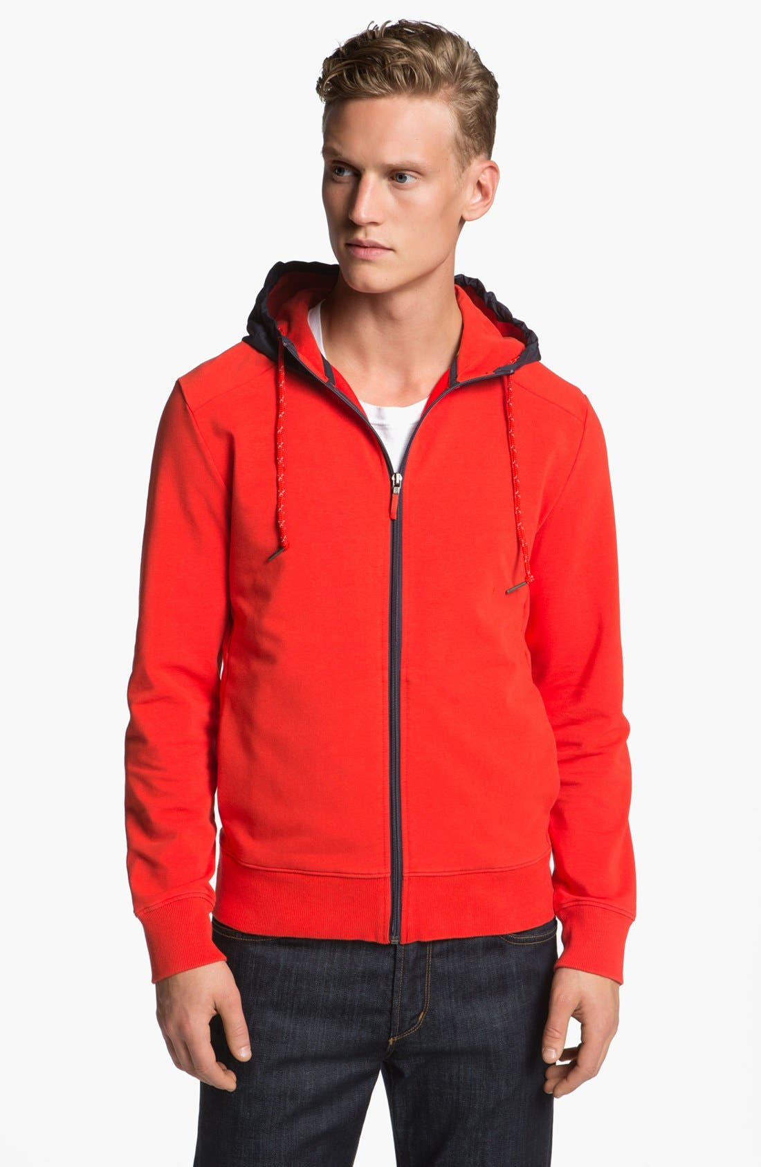 Alternate Image 1 Selected - Victorinox Swiss Army® 'International' Hooded Track Jacket