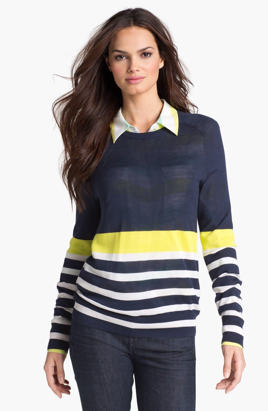 Alternate Image 1 Selected - Equipment 'Sloane' Silk Sweater