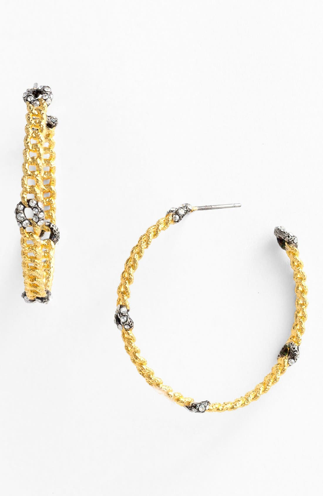 Alternate Image 1 Selected - Alexis Bittar 'Elements - Cordova' Link Hoop Earrings