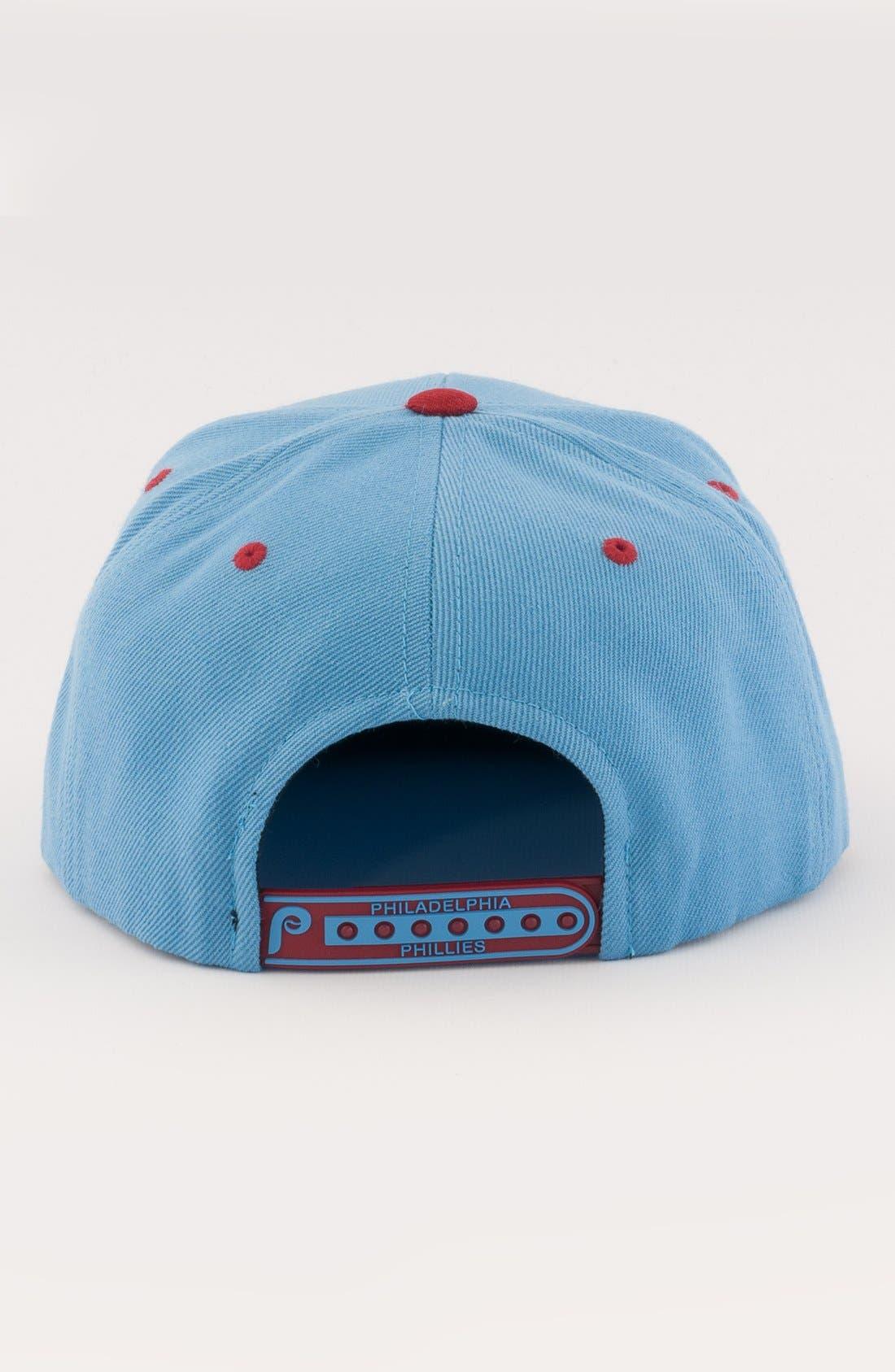 Alternate Image 2  - American Needle 'Philadelphia Phillies - Back 2 Front' Snapback Baseball Cap