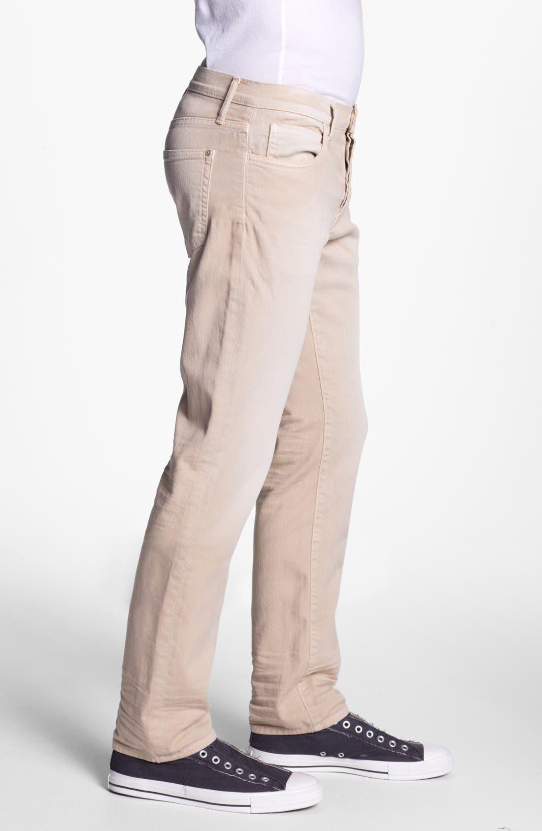 Alternate Image 3  - Koral 'Los Angeles' Slim Leg Jeans (Tan)