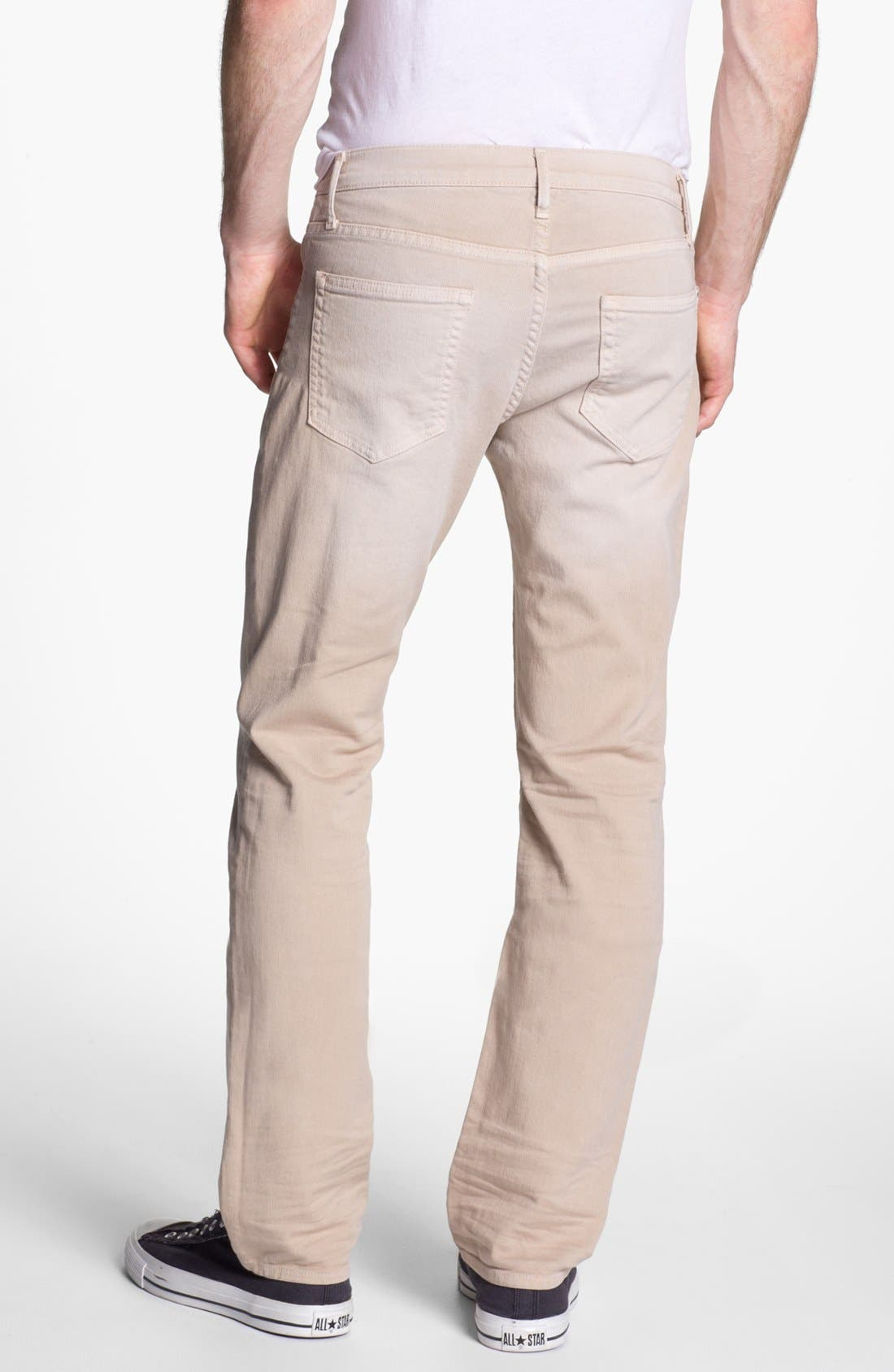 Main Image - Koral 'Los Angeles' Slim Leg Jeans (Tan)