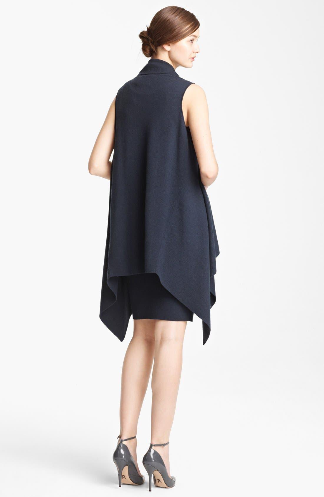 Alternate Image 2  - Donna Karan Collection Sleeveless Featherweight Cashmere Cozy