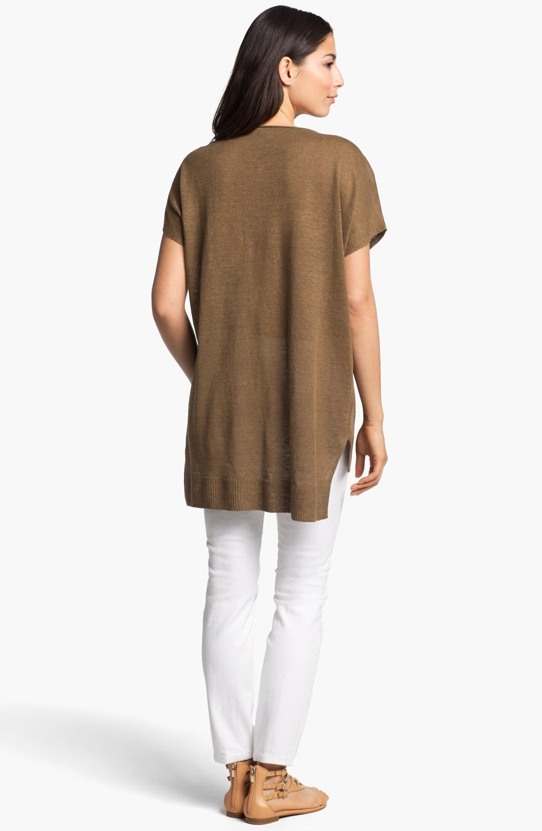 Alternate Image 3  - Eileen Fisher Scoop Neck Dolman Sleeve Tunic