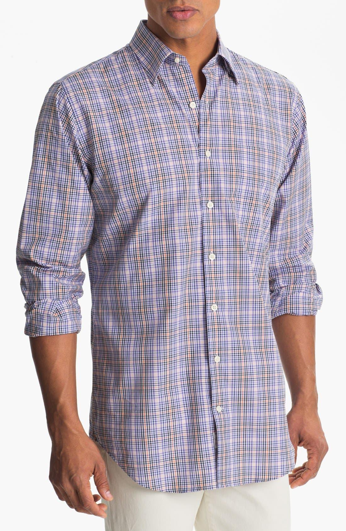 Alternate Image 1 Selected - Peter Millar Sport Shirt (Tall)