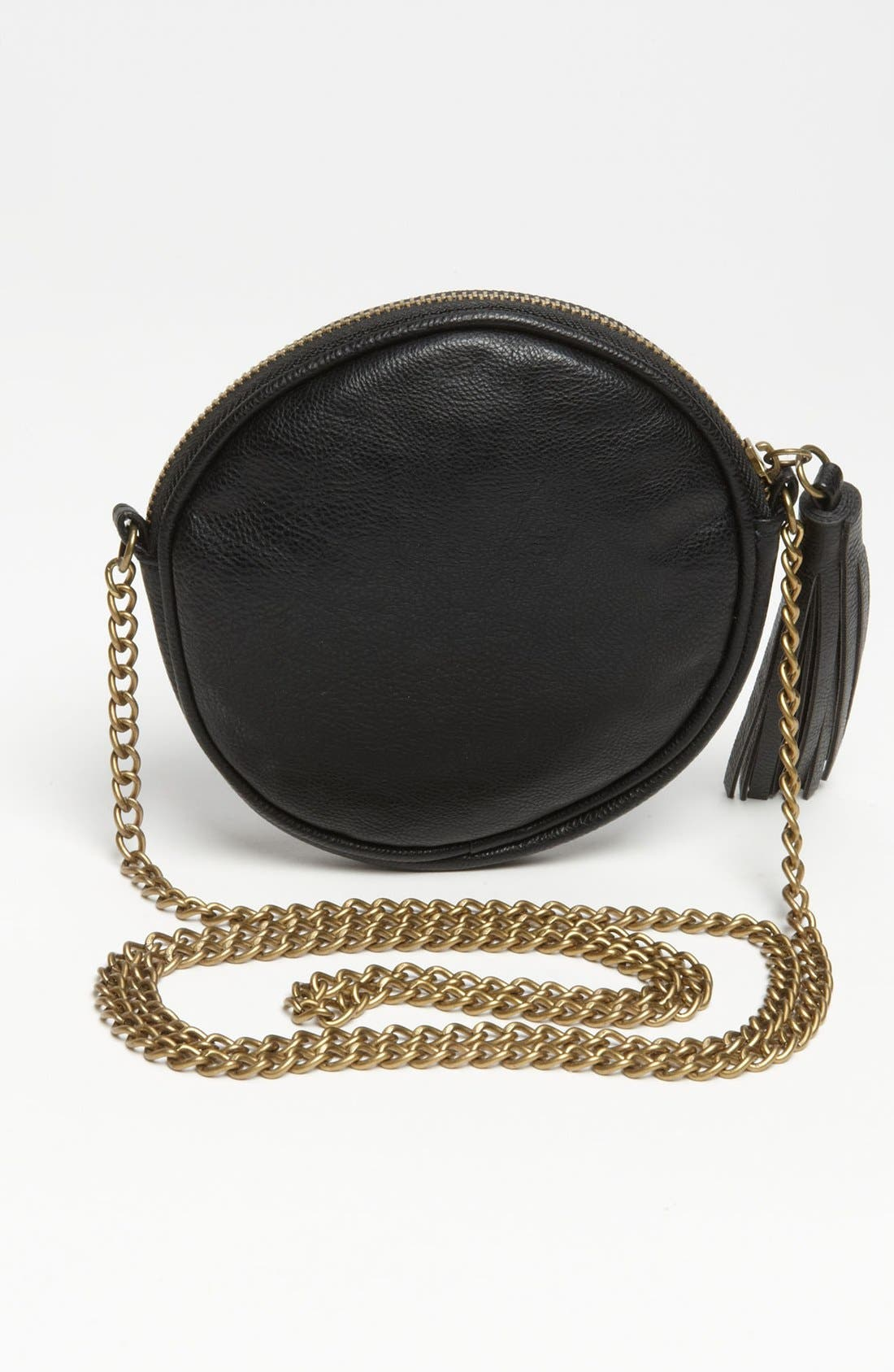 Alternate Image 4  - Lulu 'Cross Stud - Small' Quilted Faux Leather Crossbody Bag