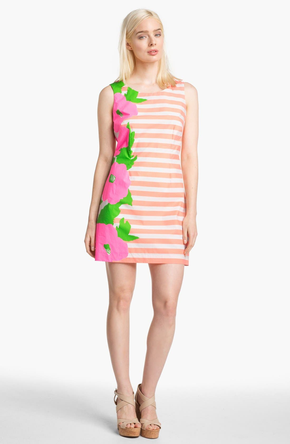Main Image - Lilly Pulitzer® 'Delia' Multi Print Shift Dress