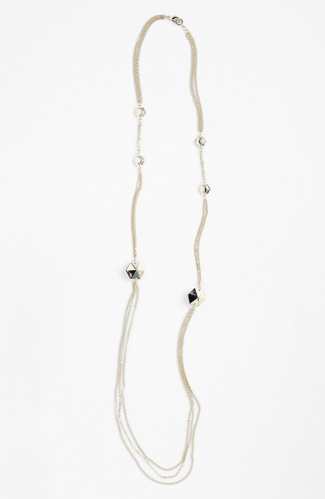Alternate Image 1 Selected - Bonnie Jonas Pyramid Stud Multistrand Necklace