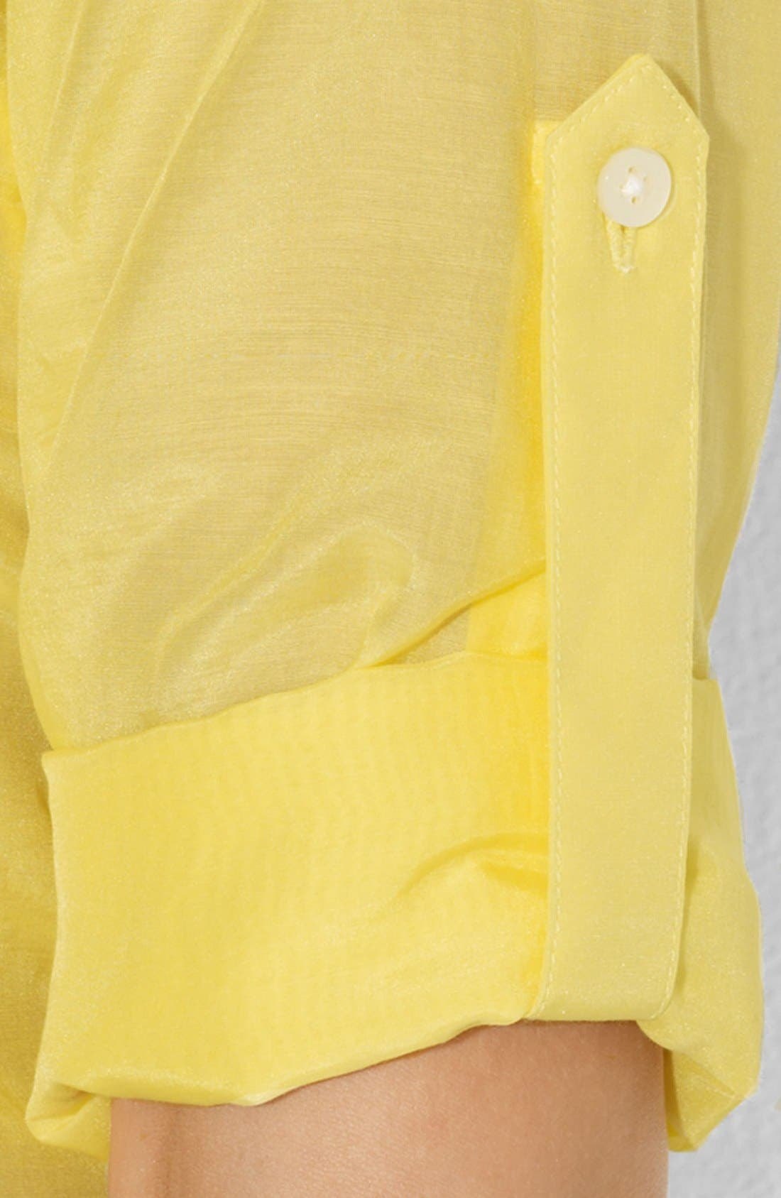 Alternate Image 3  - Lauren Ralph Lauren Cotton Work Shirt