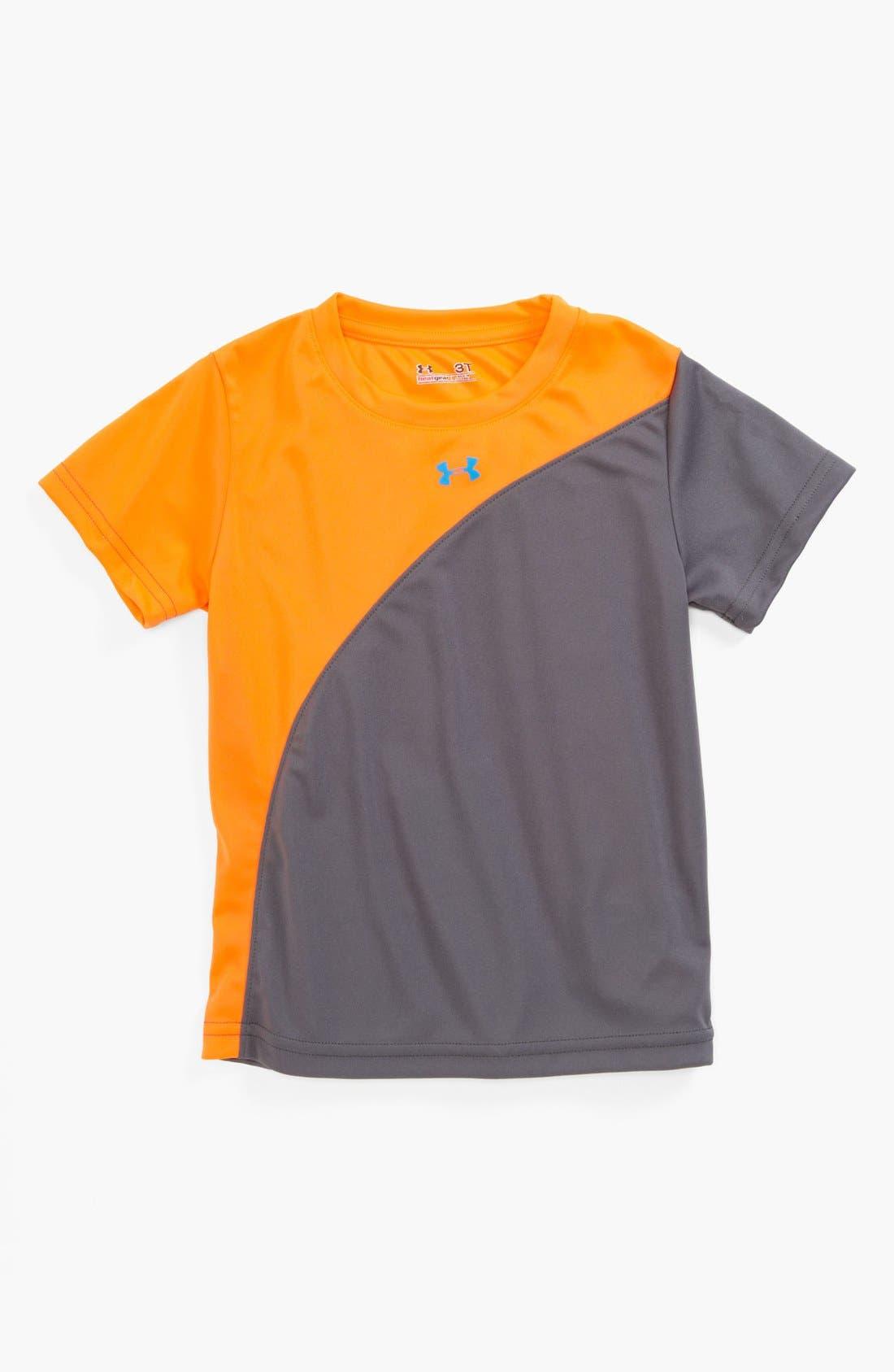 Alternate Image 1 Selected - Under Armour 'Flip' T-Shirt (Toddler)