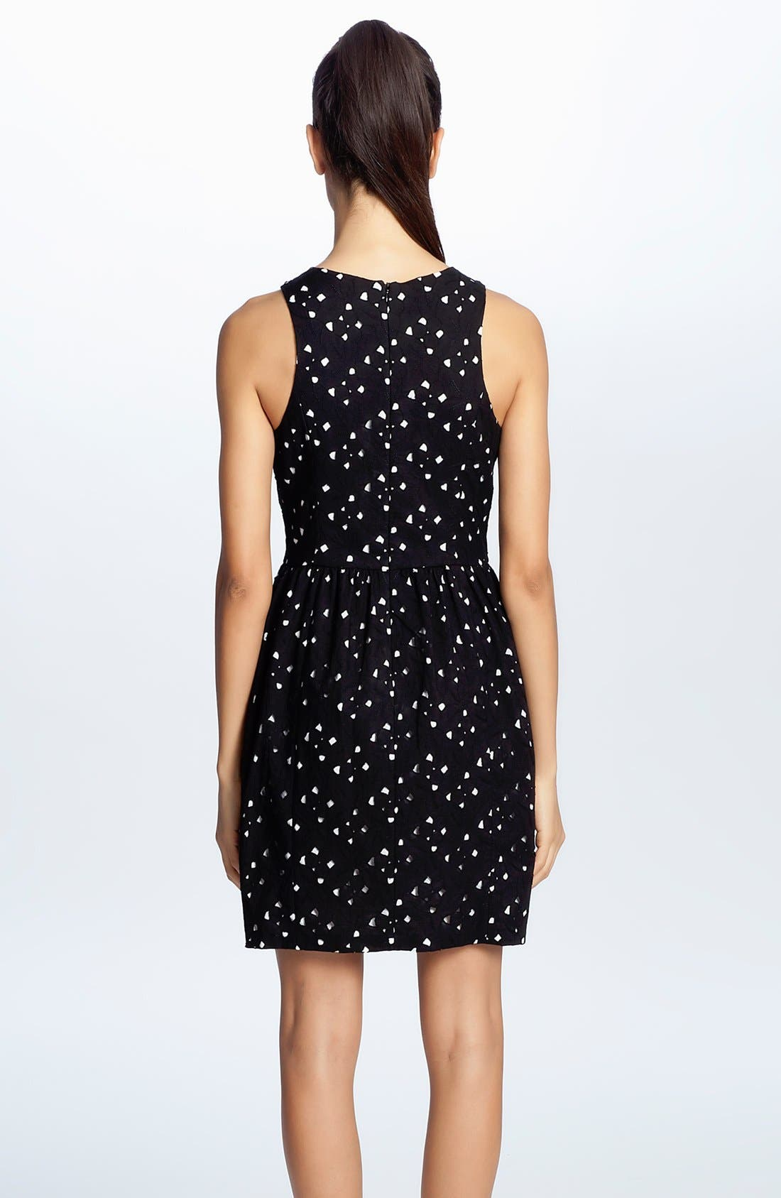 Alternate Image 2  - Cynthia Steffe 'Peyton' Eyelet Cotton Fit & Flare Dress