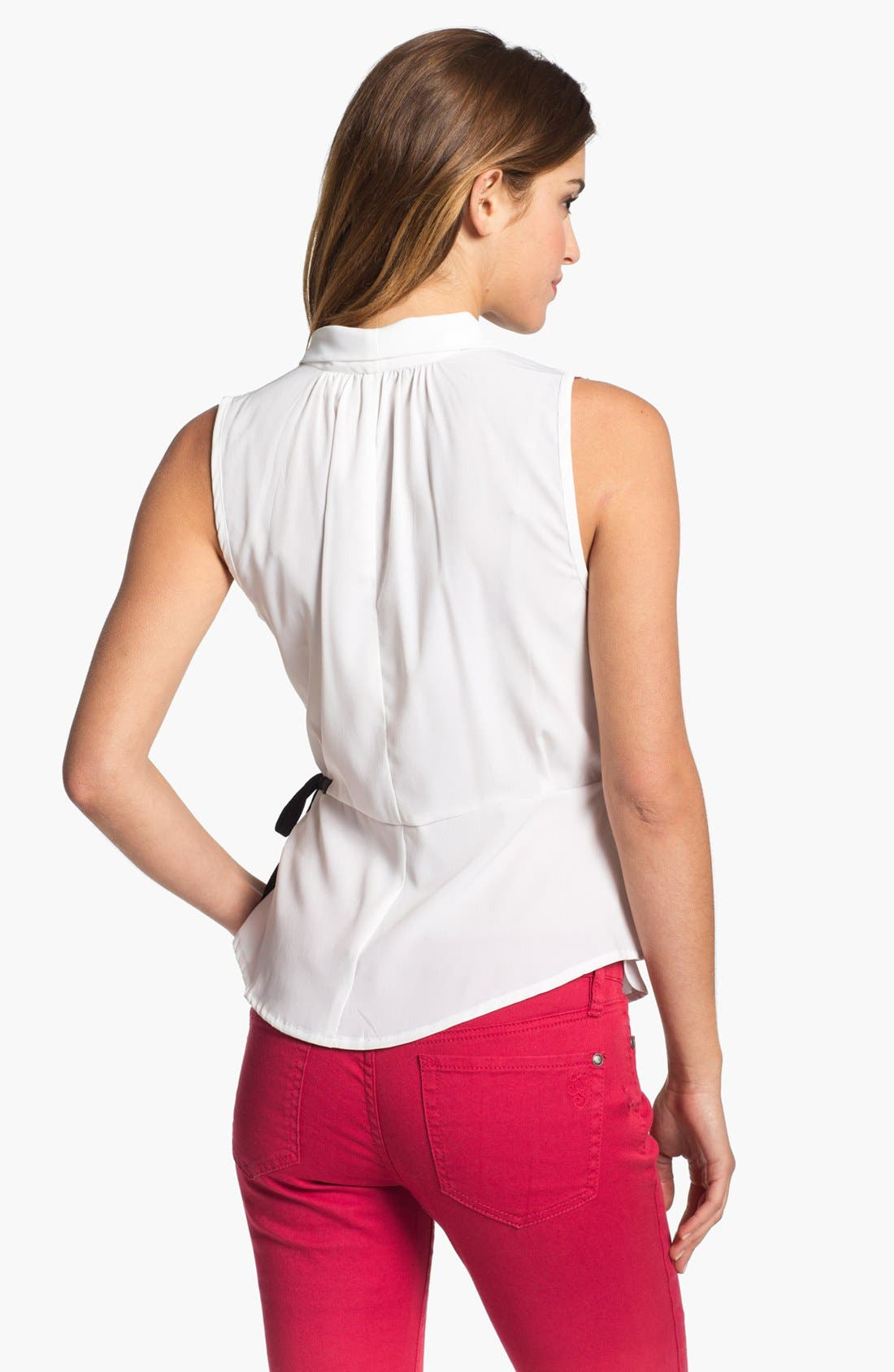 Alternate Image 2  - Research & Design Wrap Peplum Blouse (Online Only)