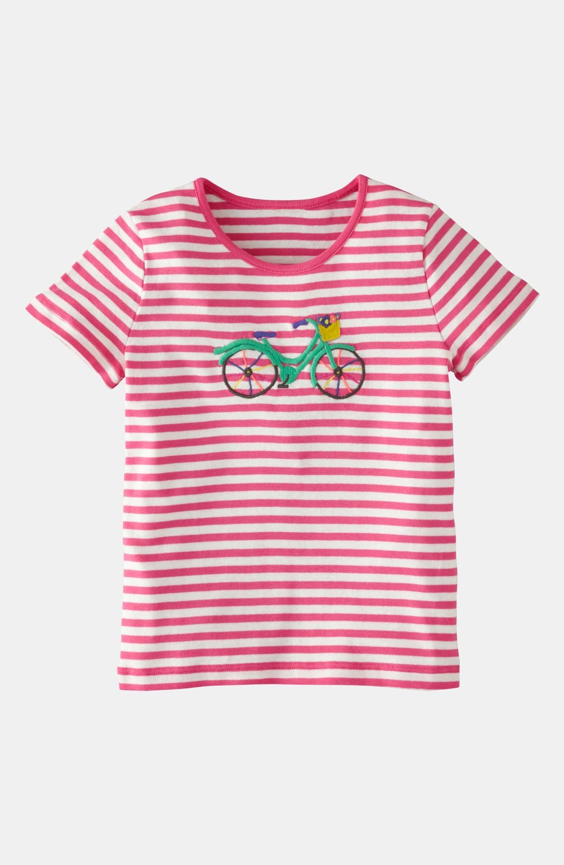 Alternate Image 1 Selected - Mini Boden Appliqué Tee (Toddler)