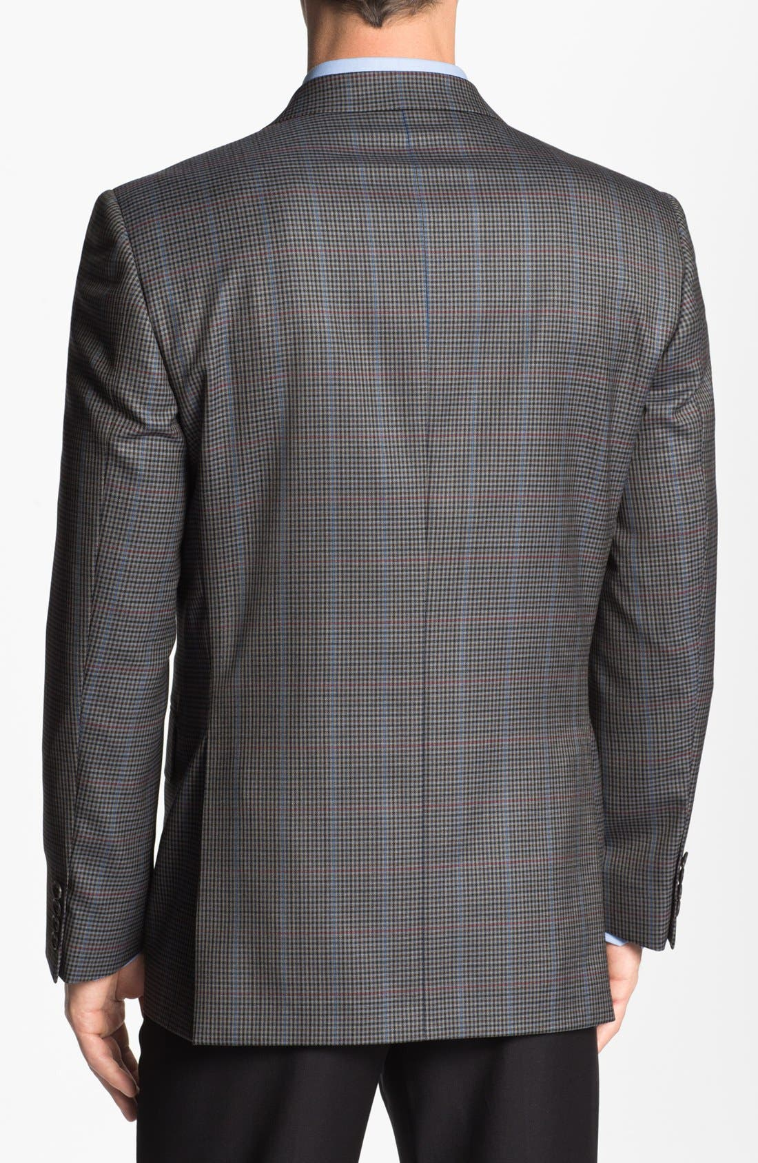 Alternate Image 3  - Joseph Abboud 'Signature Silver' Check Wool Sportcoat