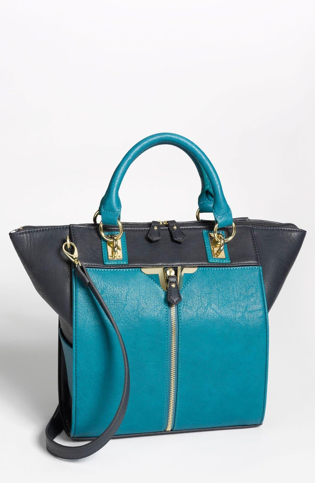 Alternate Image 1 Selected - Danielle Nicole 'Alexa' Faux Leather Satchel, Medium