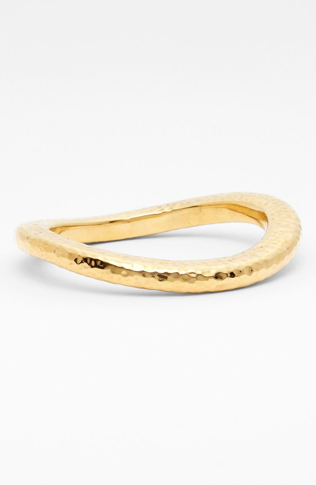 Main Image - Simon Sebbag Hammered Skinny Wavy Bangle