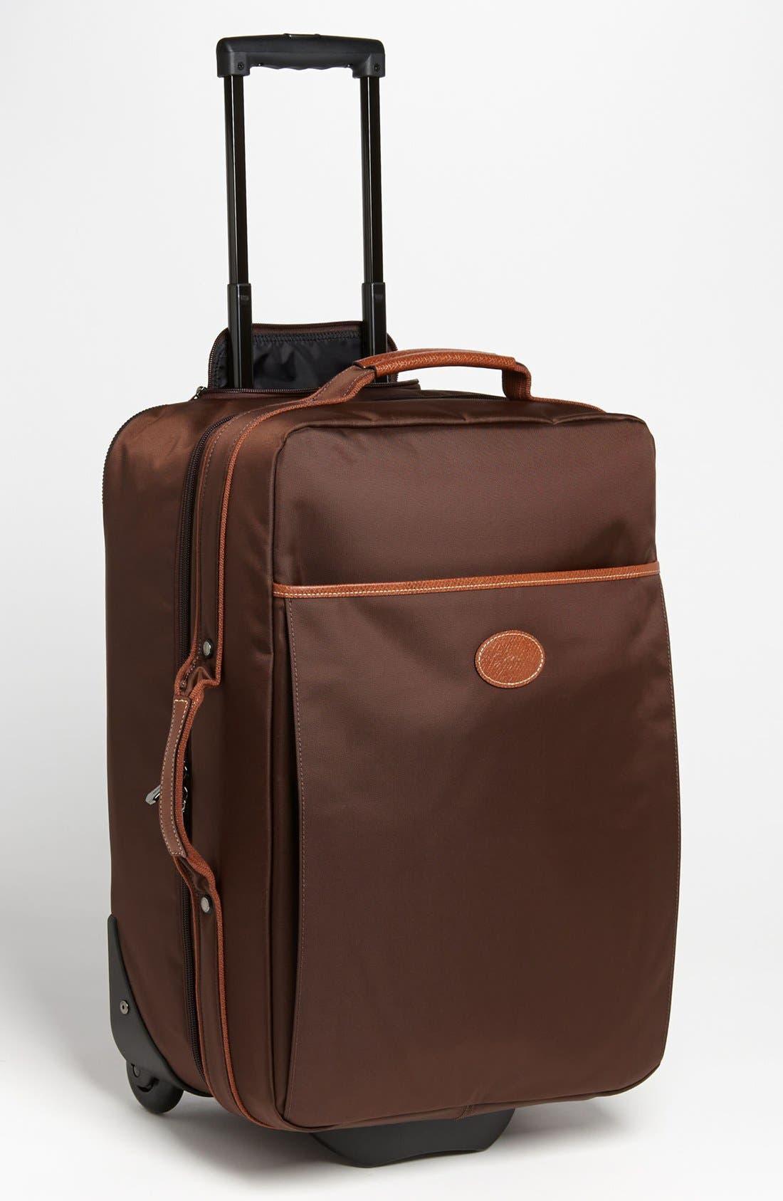 Alternate Image 1 Selected - Longchamp 'Le Pliage' Wheeled Carry-On (21 Inch)