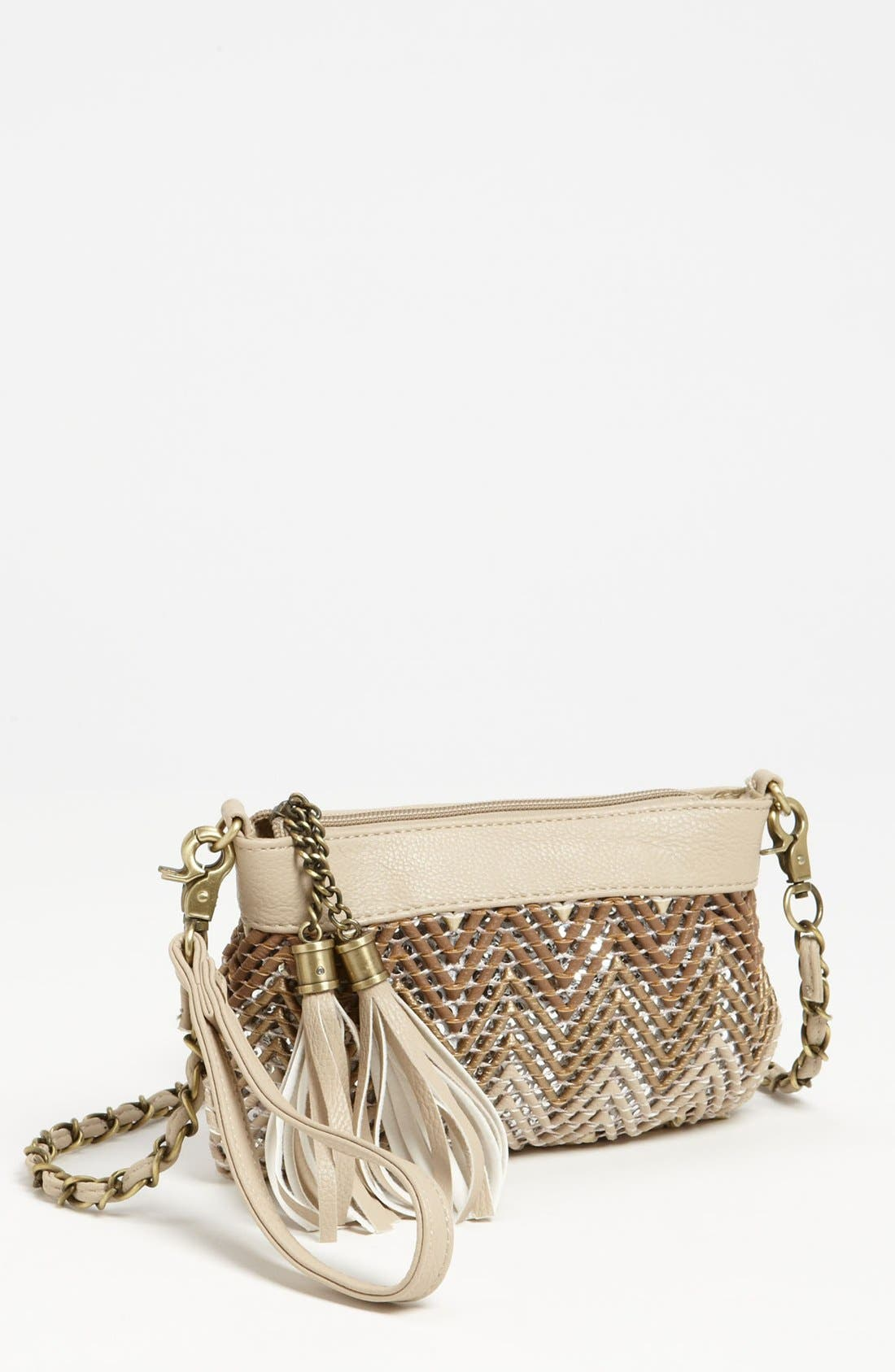 Alternate Image 1 Selected - Big Buddha 'Zig Zag' Clutch