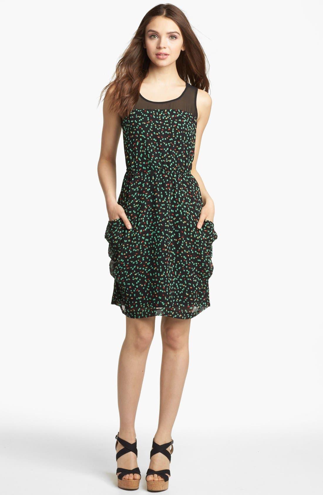 Alternate Image 1 Selected - Kensie 'Sketched Spot' Dress