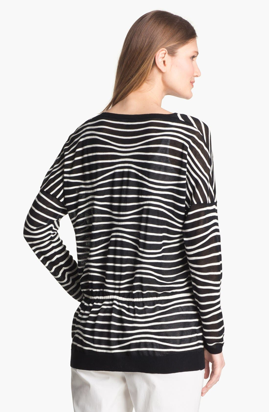 Alternate Image 2  - Lafayette 148 New York Drawstring Waist Sweater