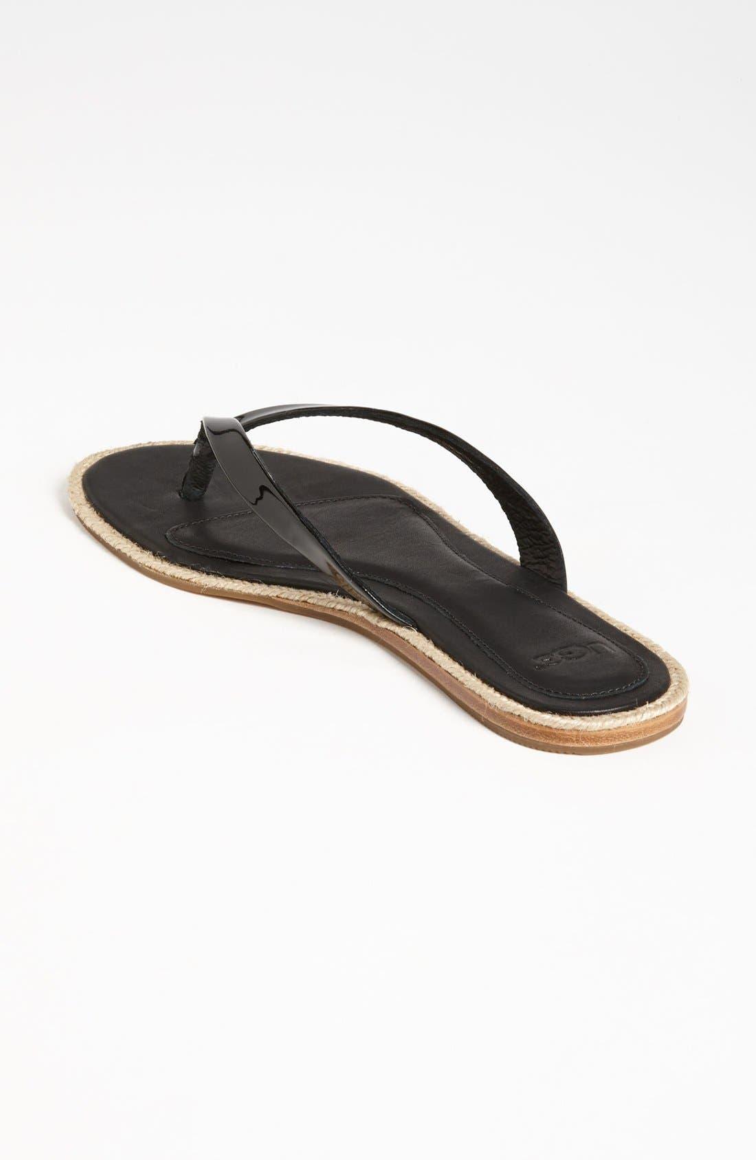 Alternate Image 2  - UGG® Australia 'Allaria' Flip Flop (Women)