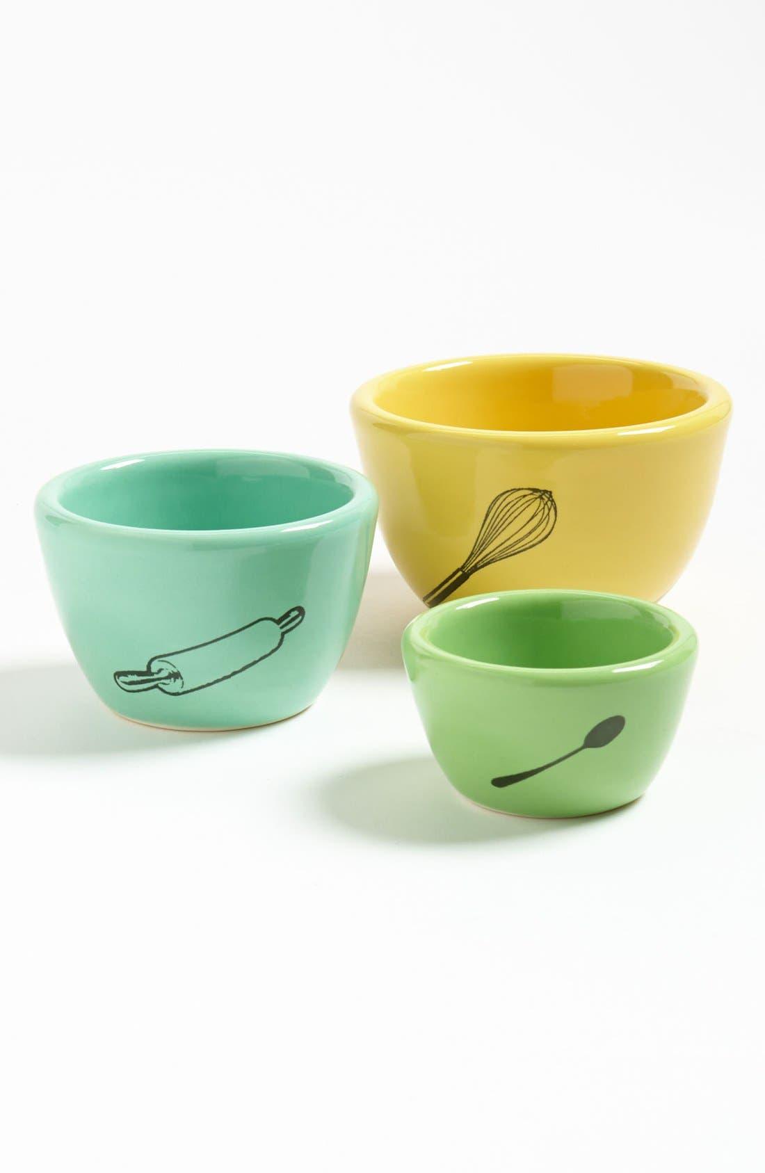Alternate Image 1 Selected - CircaCeramics 'Kitchen Implements - Urban Set' Bowls (Set of 3)