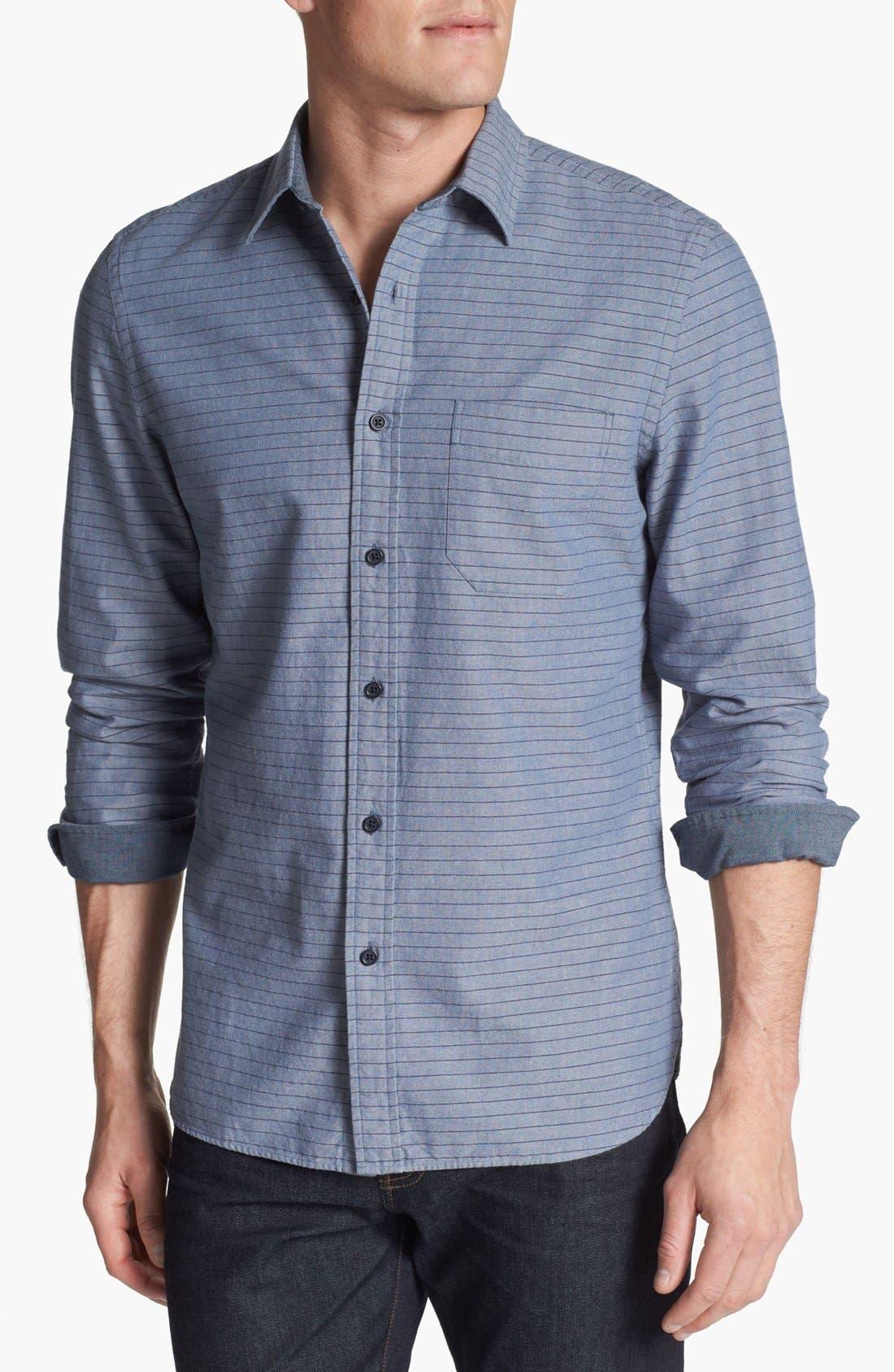 Main Image - Wallin & Bros. Trim Fit Sport Shirt