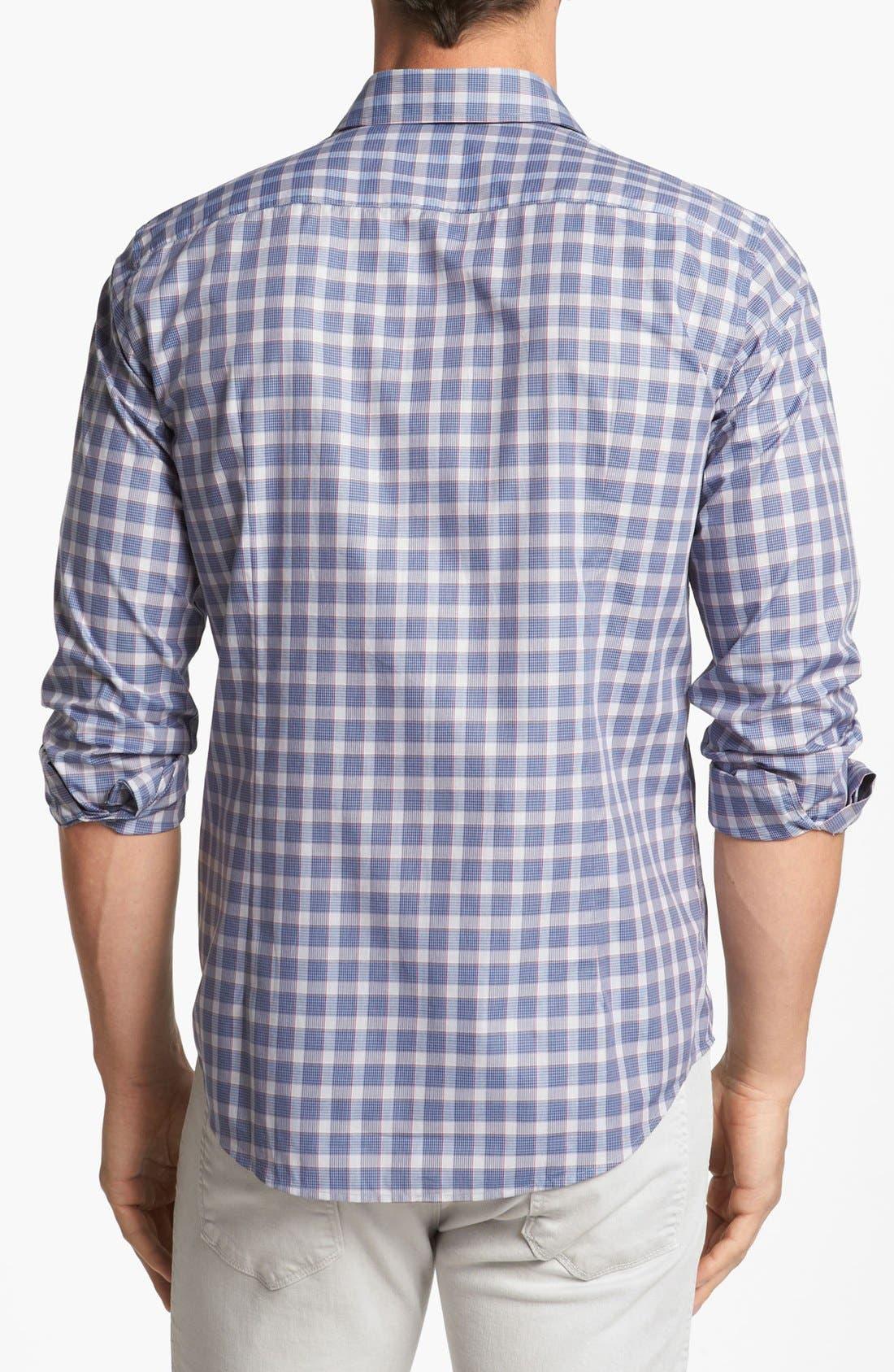 Alternate Image 2  - BOSS HUGO BOSS 'Ronny' Slim Fit Sport Shirt